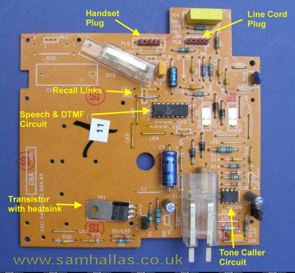 Astonishing Telephone Circuit Board Basic Electronics Wiring Diagram Wiring Digital Resources Attrlexorcompassionincorg